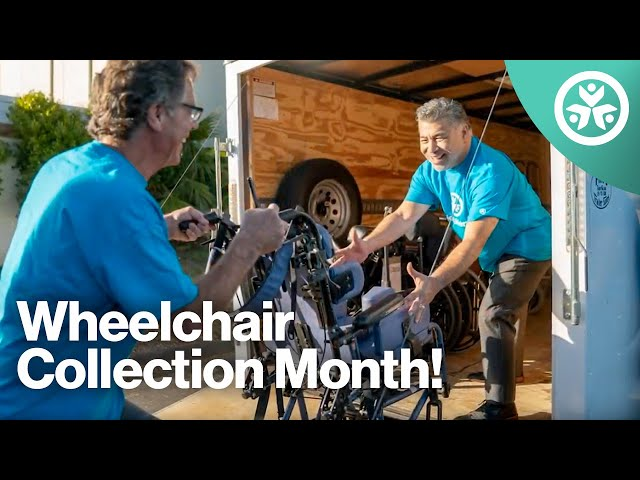 Joni and Friends Annual Wheelchair Collection Month