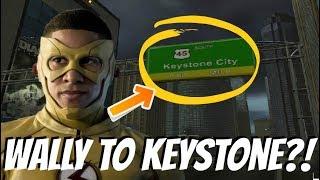 The Flash Season 4 - Wally West Moves to Keystone City?!