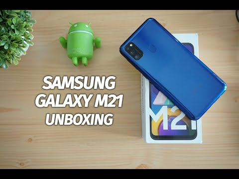 Samsung Galaxy M21 Unboxing, 48MP Camera and 6000mAh Battery