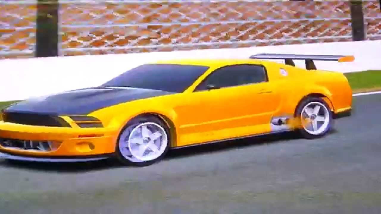 Test driving the 2004 ford mustang gt r concept part 1