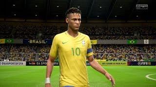 FIFA 18 | Brazil vs Argentina - Full Gameplay (PS4/Xbox One)