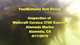 FastBottoms Inspection Wellcraft Corsica 3700 Express 4 11 19