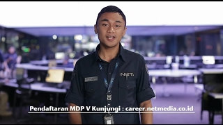Tips Lolos MDP V Dari News Reporter Di NET.