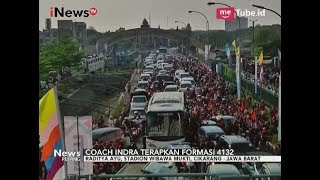Suporter Timnas Padati Stadion Jelang Laga Indonesia U19 vs Thailand U19 - iNews Petang 08/10