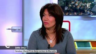 Samia Ghali évoque les quartiers en danger de Marseille - C à vous - 10/02/2015