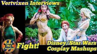 Vertvixen talks to Ashlynne Dae (Elsa/ Leia), Elizabeth Rage (…