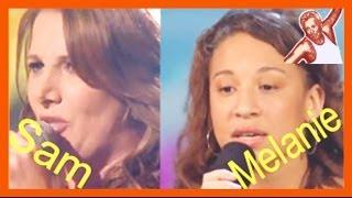 Sam Bailey & Melanie Amaro [X Factor UK 2013 USA 2012]: Beyonce Listen Virtual Duet - Best Audition