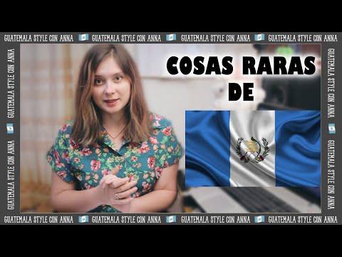 COSAS RARAS que hacen SOLO en GUATEMALA | Como casi me muero | ANNA la Ucraniana