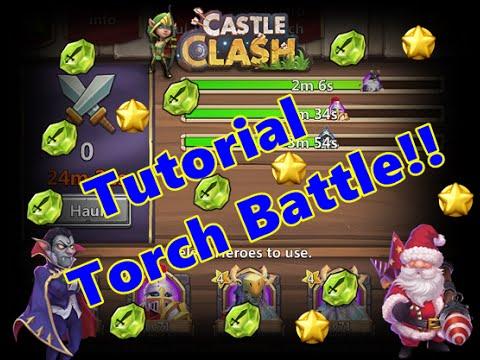 Tutorial Torch Battle Castle Clash