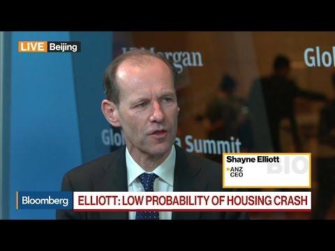 ANZ's Elliott on RBA, Housing Market, Banking Sector