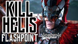 Horizon Zero Dawn - KILL HELIS FLASHPOINT - ALL DIALOGUE CHOICES AND KILLS