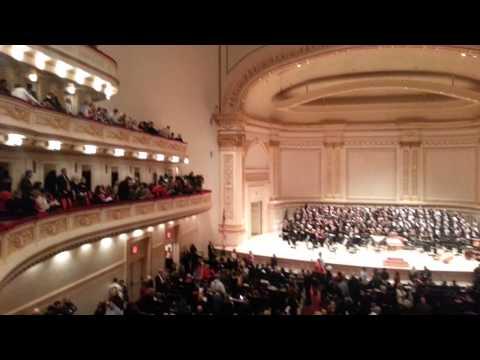 Carnegie Hall inside