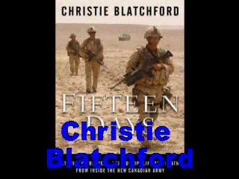 Christie Blatchford-Fifteen Days-Bookbits author interview