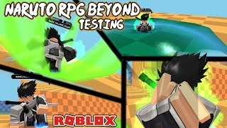 (NxB) Naruto RPG BEYOND Testing! Crazy GOOD! | Roblox