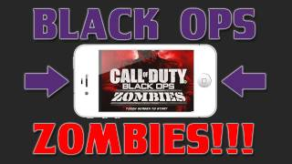 Best iPhone Games - Call of Duty: Black Ops - Zombies Review - iPhone / iPod / iPad - iOS App Review