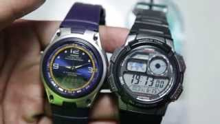 casio outgear aw 82 2av vs casio standard ae 1000 1bv