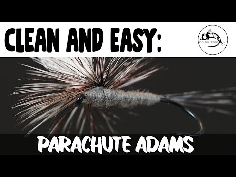 Super Clean and Easy: Parachute Adams