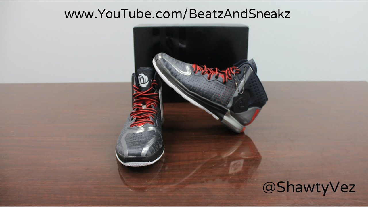 c59444d757d3 Adidas D Rose 4 Away Review - YouTube