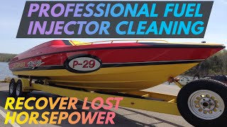 Professional Marine Fuel Injector Flow Testing & Cleaning