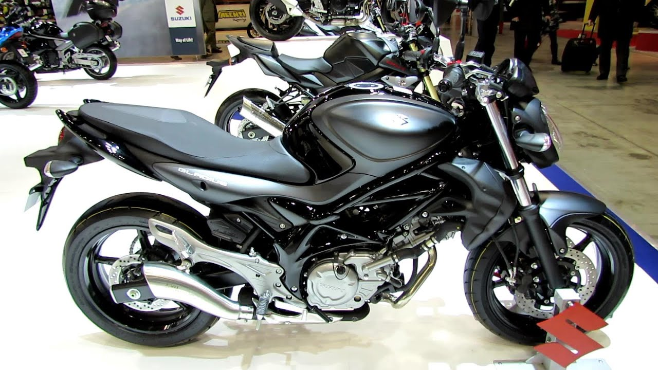 2014 Suzuki Gladius 650 ABS Walkaround - 2013 EICMA Milan Motorcycle ...