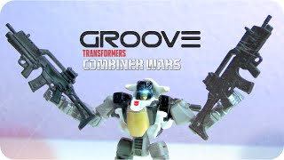 Transformers GROOVE Combiner Wars (LEGION CLASS) | ATR