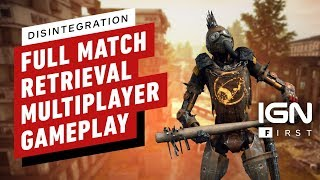 Disintegration: 16 Minutes of Retrieval Multiplayer Gameplay - IGN First