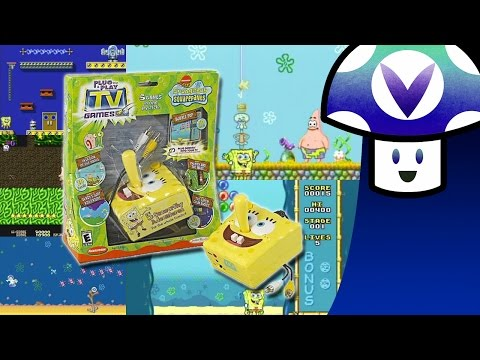 [Vinesauce] Vinny - Spongebob Squarepants Plug & Plague 5-in-1 TV Game