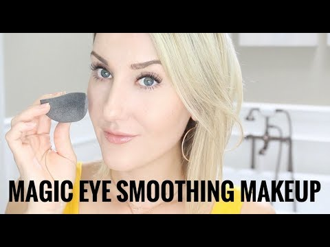 THE MAGIC UNDER-EYE SMOOTHING MAKEUP ROUTINE. thumbnail