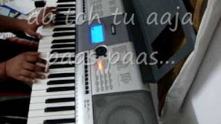 Guzarish from Ghajini on Piano with Lyrics.