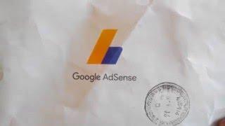 google adsense pin received
