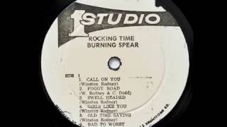 burning spear old time saying studio one 1974