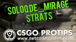 CS:GO Tips & Tricks - SoloQ Terrorist Strategy de_mirage - Tarik