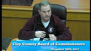 B171226A -12/26/17 - Clay County MN Board of Commissioners