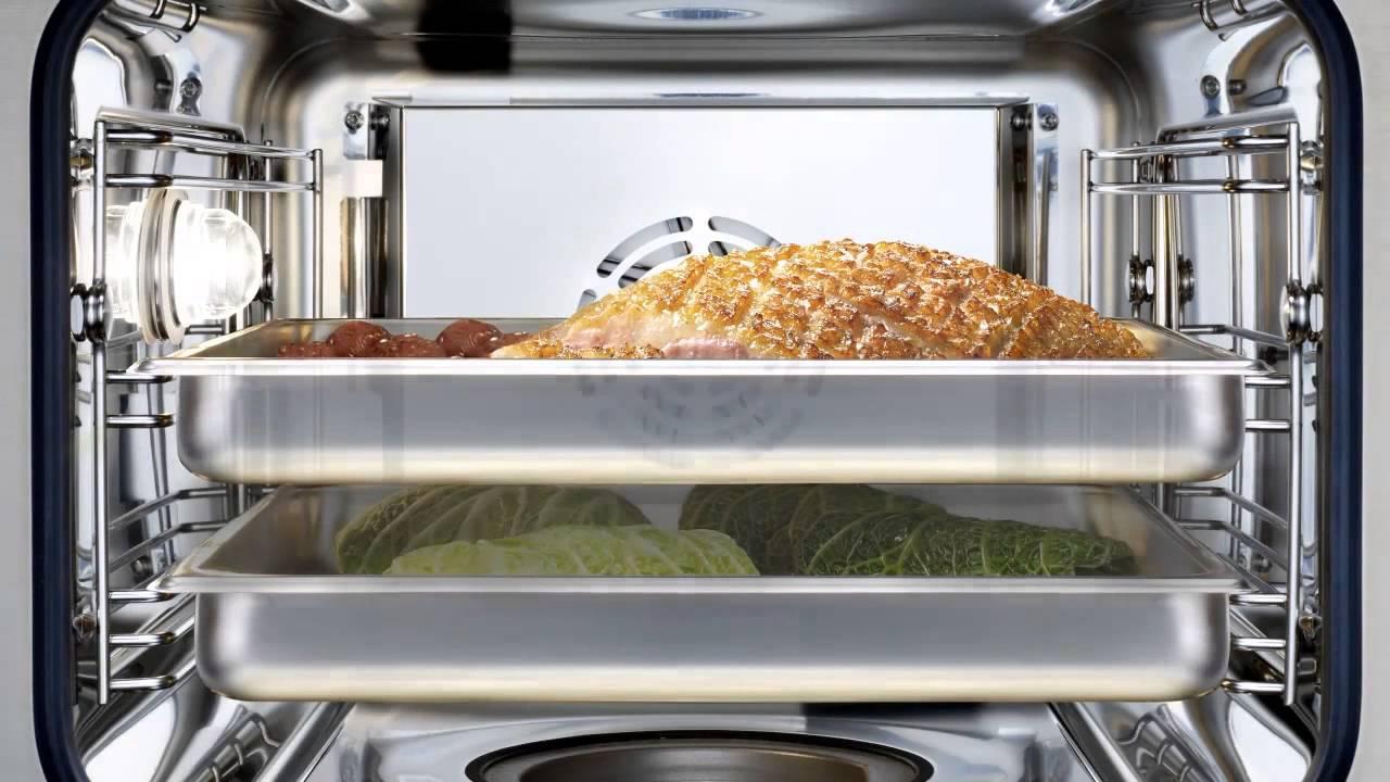 Minihuber Gmbh Kochvorfuhrung 5 6 2013 Bosch Dampfbackofen Youtube