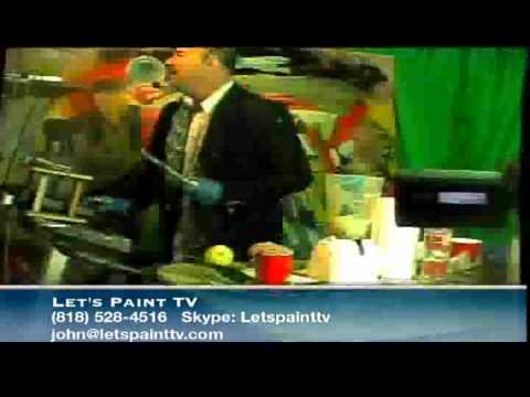 Let's Paint,Exericise and make a Lemon Vodka drink TV