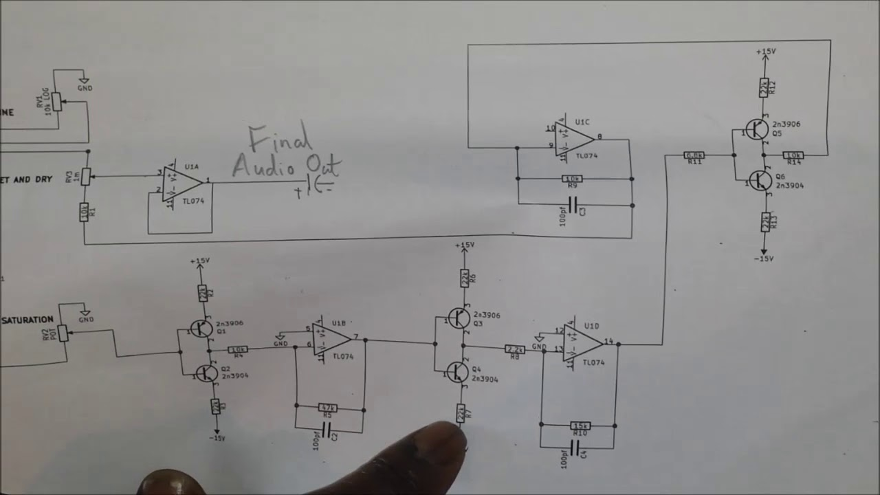 DIY analog synth project Tutorial Part 18 (The Wavefolder)