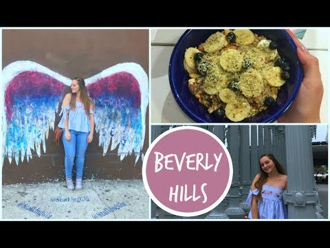 Ultimo giorno a Los Angeles | Beverly Hills, Rodeo drive, Melrose Avenue || Gemminamakeup