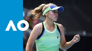 Coco Gauff vs Sofia Kenin - Match Highlights (R4) | Australian Open 2020