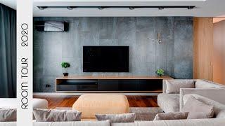 Обзор квартиры в современном стиле 2020.  Дизайн интерьера. РУМТУР. Inego дизайн.Часть 3/3
