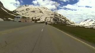 Berninapass, Passo del Bernina Nordrampe