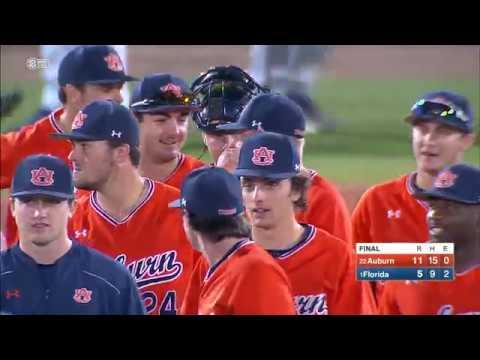 Auburn Baseball vs Florida Game 2 Highlights