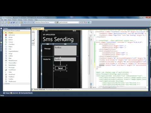How To Send SMS Using The SmsComposeTask For Windows Phone