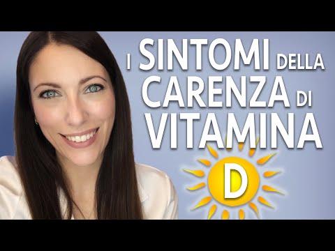 Carenza di VITAMINA D: quali sono i sintomi?