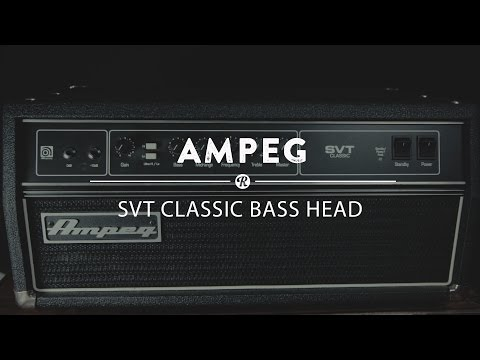 Ampeg SVT Classic Bass Amp | Reverb Demo Video