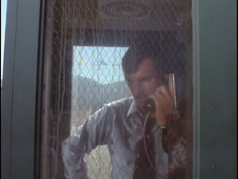"Phone Booth Scene From Steven Spielberg's ""Duel"" (1971)"