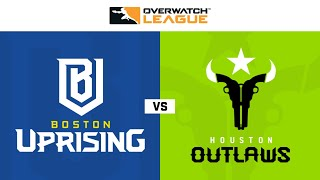 Gambar cover Boston Uprising vs Houston Outlaws | Hosted by Washington Justice | Day 1