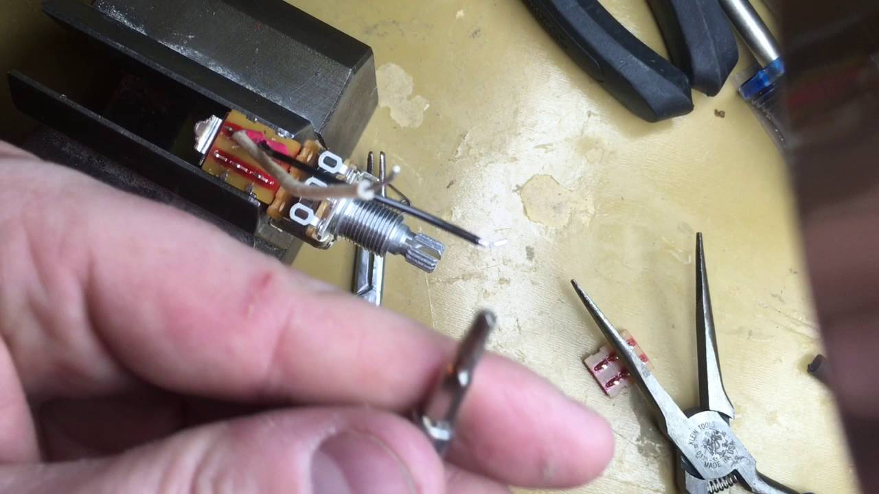 push pull b250k potentiometer wiring diagram [ 1280 x 720 Pixel ]