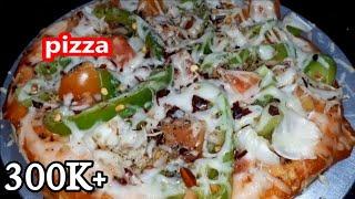 Veg Mayonnaise Pizza 🍕🍕 Mayo Pizza | Tawa Pizza  | Pan Pizza | ready base pizza recipe