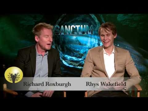 Sanctum  with on screen Father & Son pair Richard Roxburgh and RhysWakefield