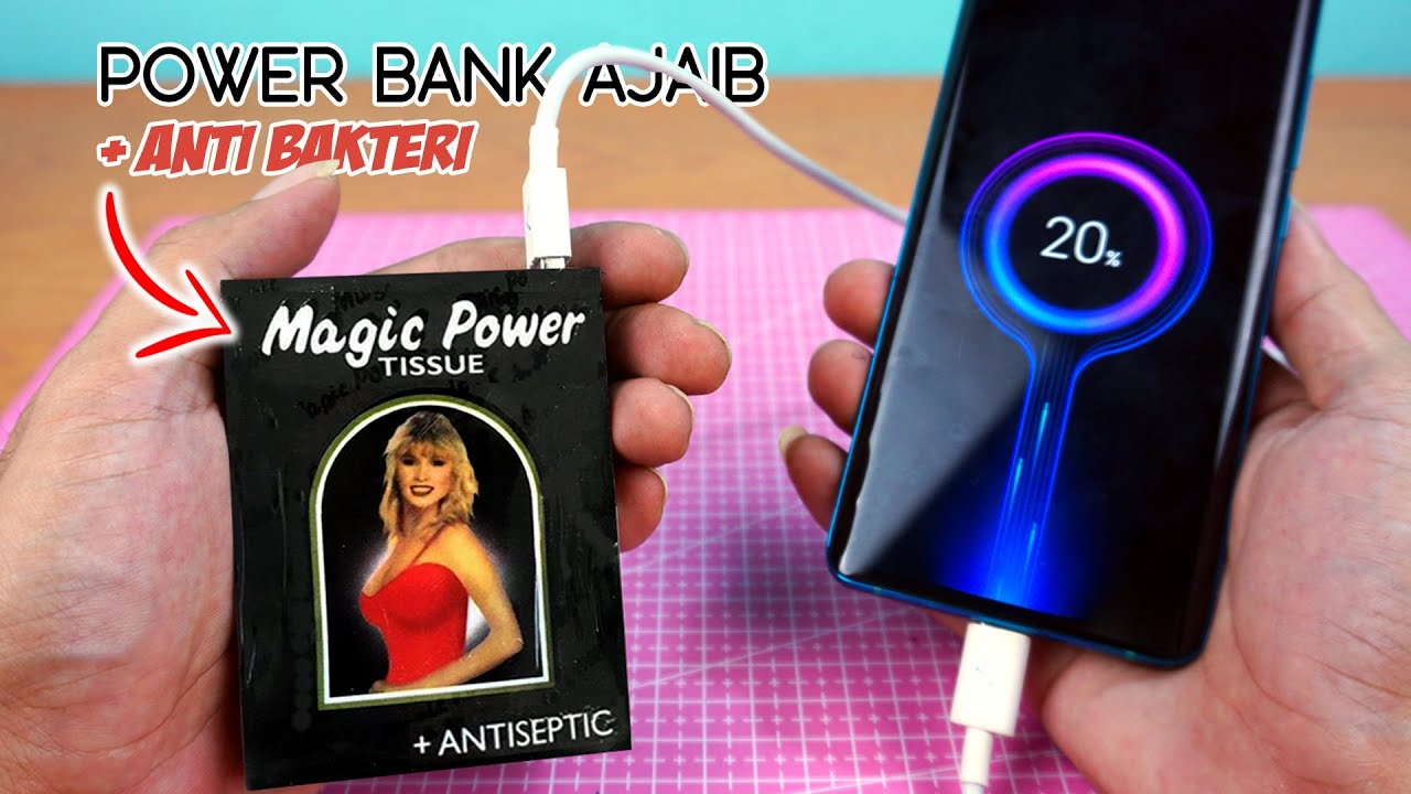 POWER BANK TISU MAGIC